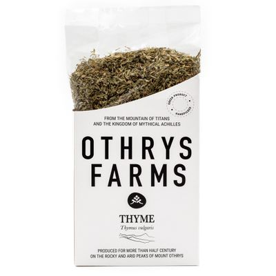 Handpicked thyme from Mount Othrys