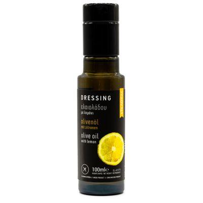 Huile d'olive au citron