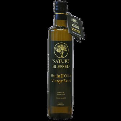 Huile d'olive vierge extra Premium – bouteille en verre de 500ml